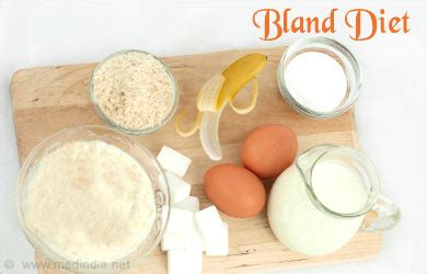 bland diet foods to avoid small meal ideas