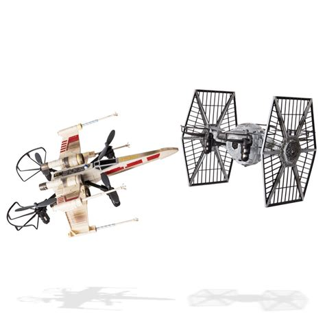 Drone Set spin master air hogs wars x wing vs tie fighter drone battle set