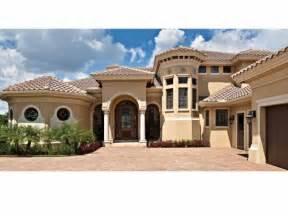 modern mediterranean house plans mediterranean modern house plans dhsw75052 house