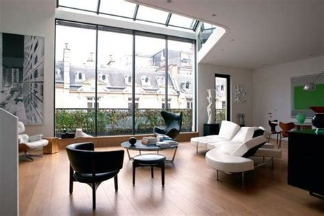 paris loft loft in paris with huge skylight and mezzanine 171 interior