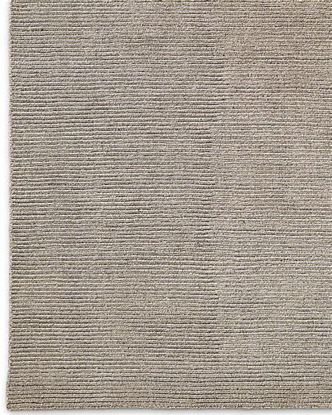 Distressed Wool Rug by Ribbed Distressed Wool Rug Mink