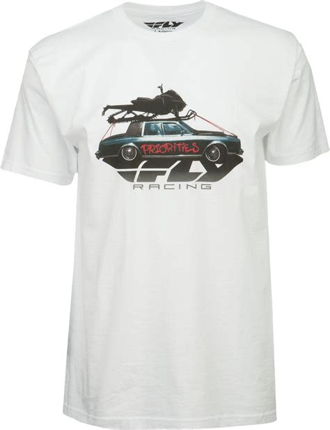 T Shirt 00928 Fly Rider 20 95 fly racing mens snow priorities t shirt 237345