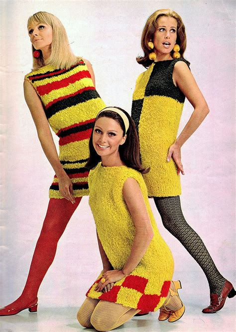 pictures of outfits for women in their60s colorful women s knitting sweaters of the 1960s vintage
