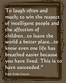 Ralph Waldo Emerson Quotes Success. QuotesGram