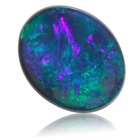 lightning ridge black opal oval 9 13ct king gems