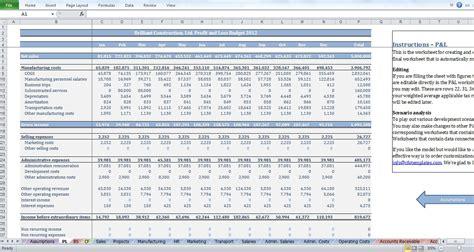 construction flow projection template construction budget template cfotemplates