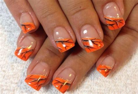 Kunst Nägel by 55 Orange Nail Ideas For