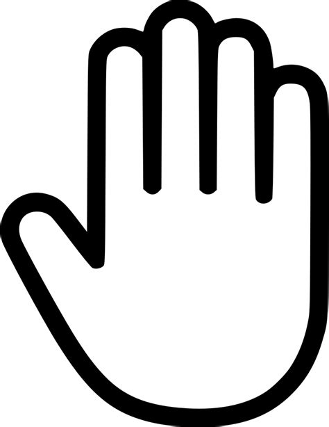 hand svg png icon    onlinewebfontscom
