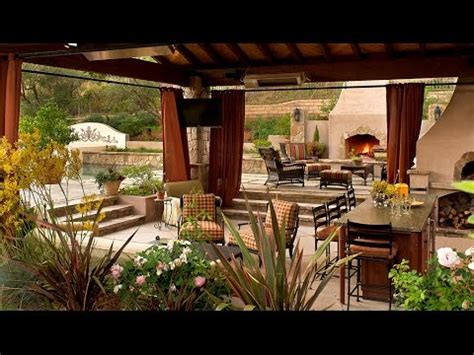 Modern Outdoor Living Space Ideas YouTube