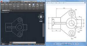 Free Online Cad 2d 2d cad drawings for practice 2d autocad practice drawing youtube