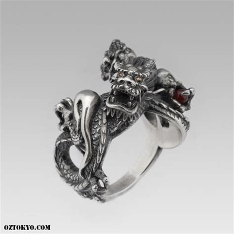 Dragon Ring   Rings by boozebird   Online Boutique Oz Abstract Tokyo, Japan