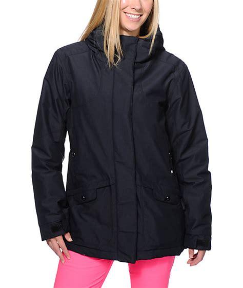 pwdr room jackets pwdr room hotel print black 5k snowboard jacket at zumiez pdp