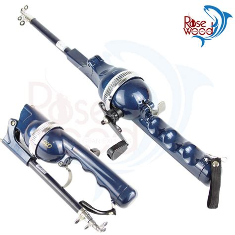 Joran Pancing Laut Shimano Folding Mini Rod Folding Rod Telescopic Pole Portable