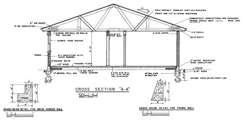 section of a house plan ranch house building plans 171 home plans home design
