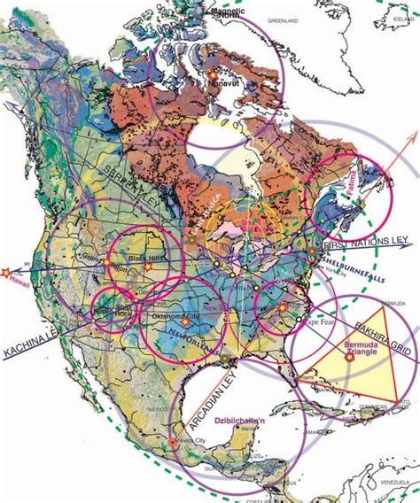 pattern energy usa magnetic ley lines in america geology patterns north