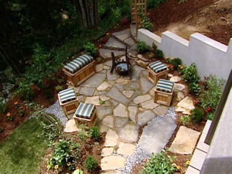 installing a flagstone patio video diy