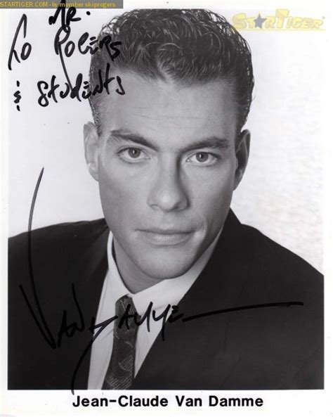 actress in death warrant jean claude van damme autograph collection entry at startiger