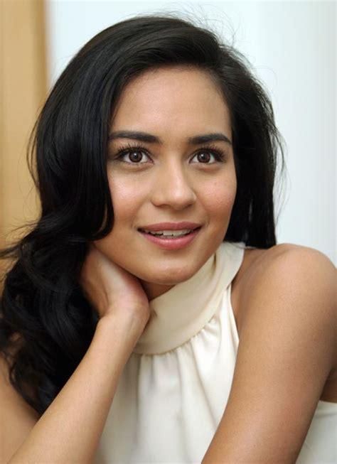 most beautiful eurasian actress malay beauty