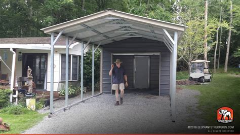 Sheds Garages And Carports Metal Carports For Sale Get Prices On Custom Steel