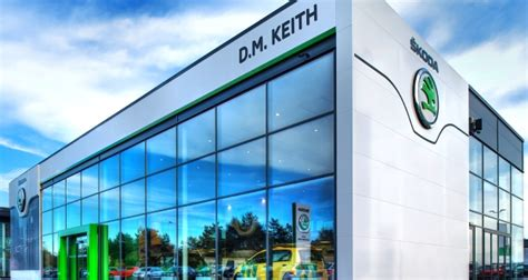motor trader news d m keith installs showroom sales system