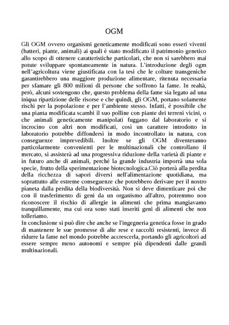 testo argomentativo eutanasia testo argomentativo sugli ogm docsity