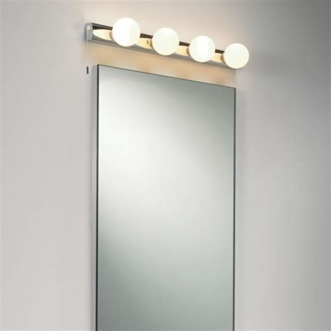 Mirror Lights by Dressing Room Mirror Light Opal Glass Globes