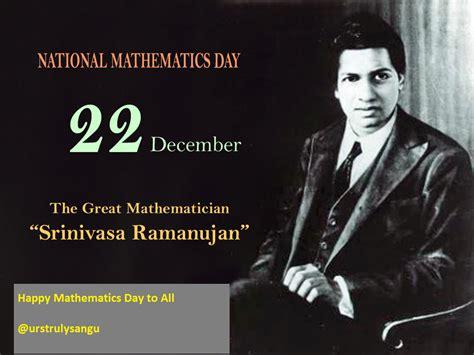 worldthe packet  gk national mathematics day