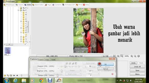 tutorial edit gambar guna lightroom tutorial edit gambar jadi cantik guna photoscape youtube