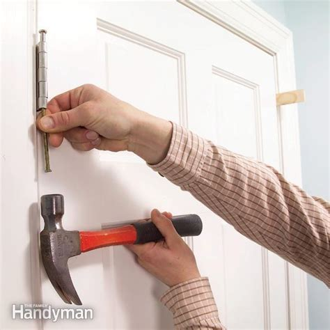 how to keep door from swinging open how to stop a door from swinging open the family handyman