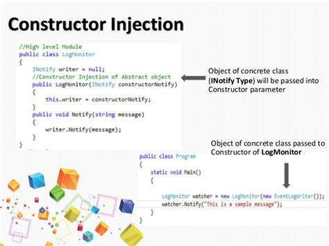 setter dependency injection spring exle dependency injection constructor setter dependency