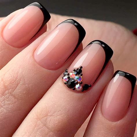 nails for 50 year old women manicure ideas for 50 year old woman fantastic black