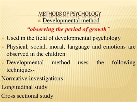 cross sectional method psychology psychology