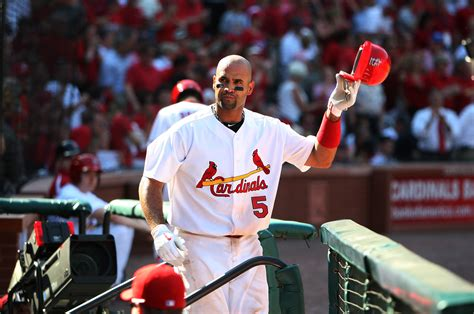 cards win their home opener big day for pujols