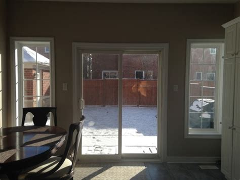 window treatment for sliding doors in kitchen need help with kitchen sliding door and window treatment