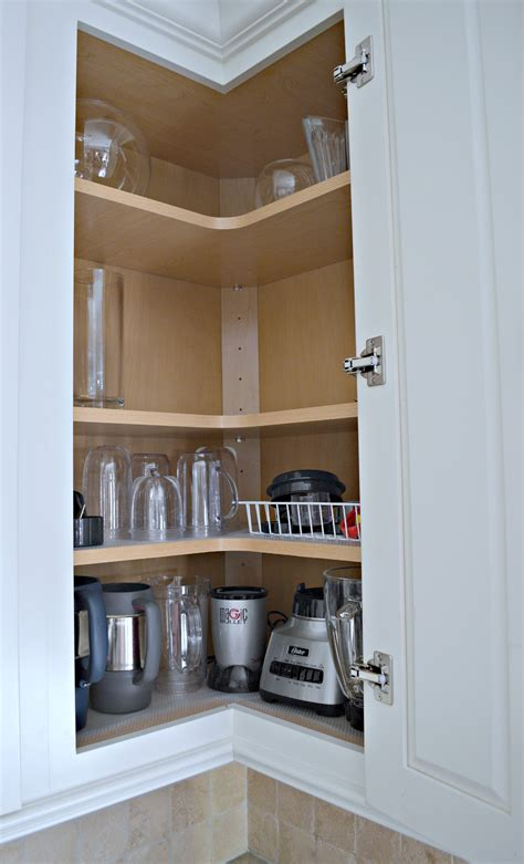 upper corner cabinet tips for designing an organized kitchen