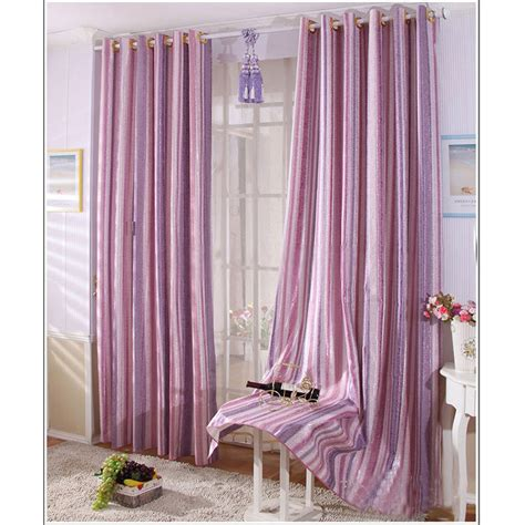 Purple And White Bedroom Curtains by Purple Bedroom Curtains Cotton Jacquard Shiny Purple