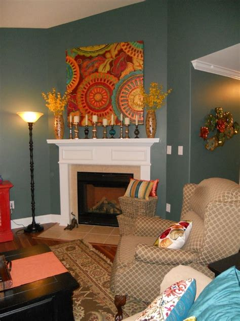 sherwin williams paint ideas for living room sherwin williams rocky river 6215 paint pinterest