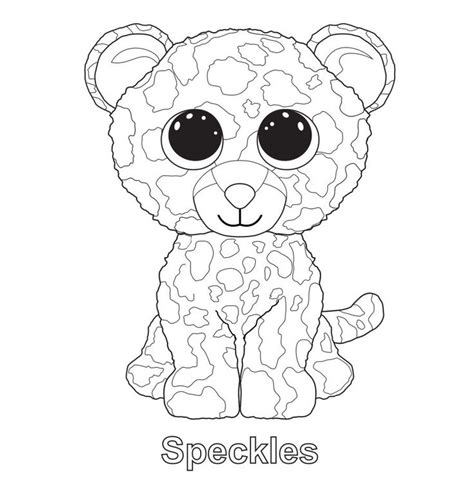 speckles the leopard ty beanie boo ty beanie boos