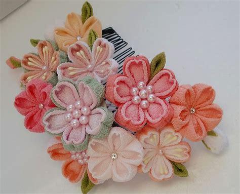 Bunga Satin Mini Flower Crown Souvenir 220 best images about kanzashi satin flowers on kanzashi tutorial hair and