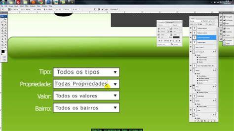 criando layout web no photoshop photoshop tutorial criando um layout para website youtube