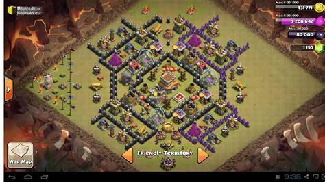 layout coc th 8 yang bagus gambar base coc yang bagus gambar c