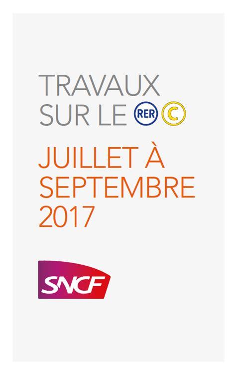 Rer C Calendrier Le Nouveau Calendrier Trimestriel Du Rer C Est Sorti Et