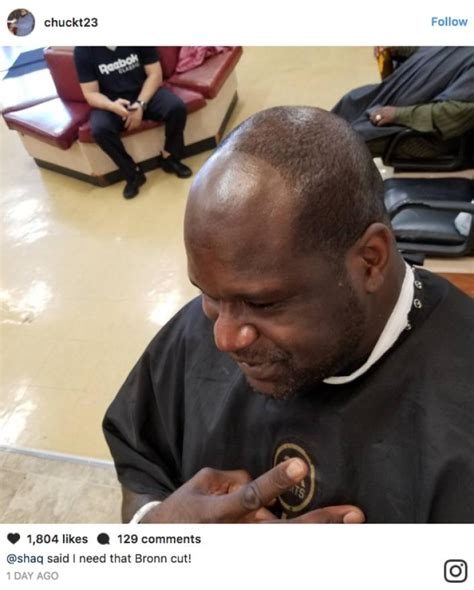 shaq haircut styles shaq haircut shaq goes to the barber and asks for the quot