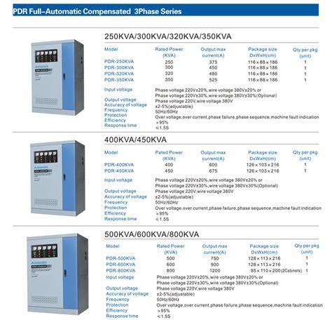 Stabilizer Arakawa Pdr 3 Phase Pdr 400kva arakawa stabilizer pdr series 2