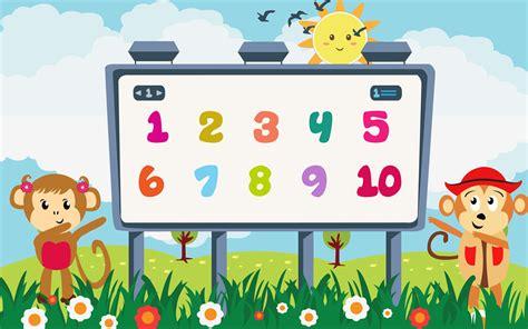 Belajar Angka Dan Berhitung 4 by Belajar Berhitung Angka Dari 1 Sai 10 Untuk Anak