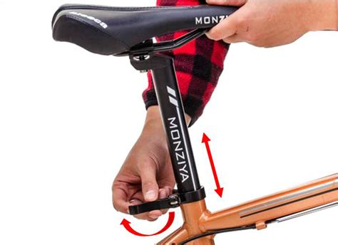 bicycle seat adjustment bicycle saddle height style by modernstork