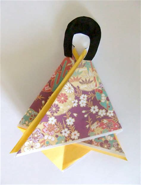How To Make Japanese Paper Dolls - japanese paper doll puppets sumico net web