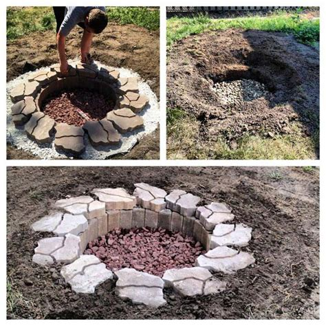 How To Build A Firepit In The Ground In Ground Pits How To Build 187 Design And Ideas