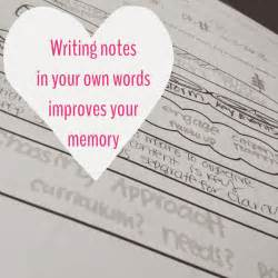 Write Your Own Essay by Organized Charm Write Notes In Your Own Words