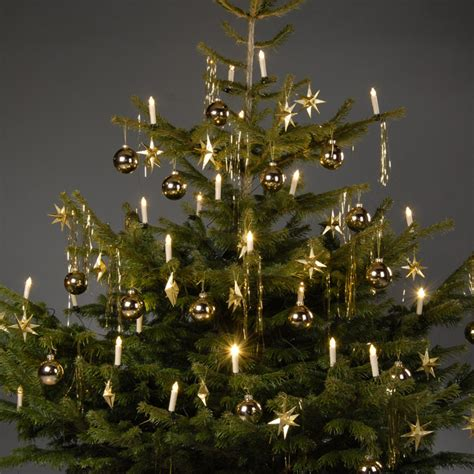 led christmas tree candle lights clip on fairy lights warm